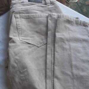 Kenneth Cole skinny corduroy pants